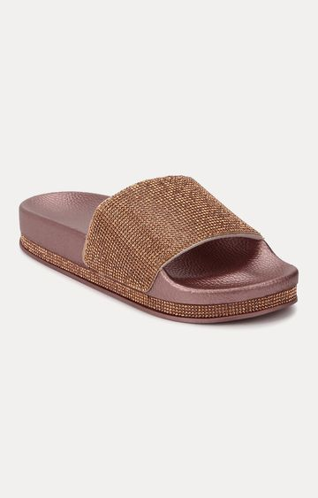 Truffle Collection | Rose Gold Slip-ons