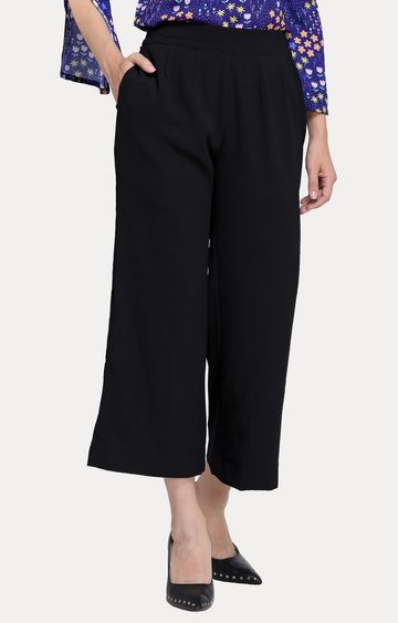 Smarty Pants | Black Culottes