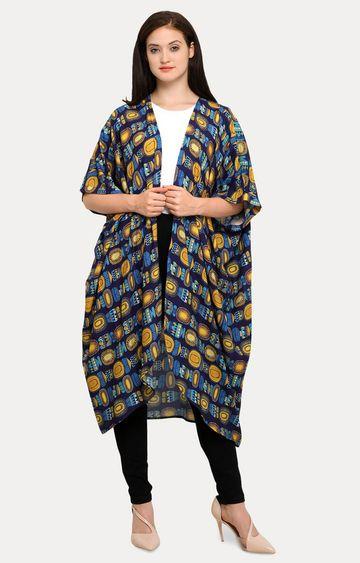 Smarty Pants | Multicoloured Printed Shrug