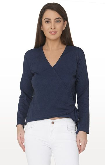 Smarty Pants | Navy Solid Top