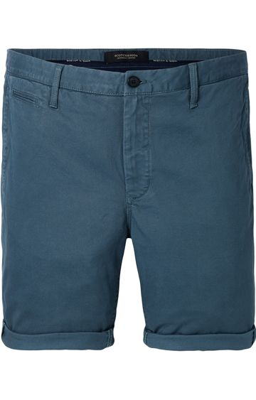 Scotch & Soda | Chino Short In Stretch Twill Quality