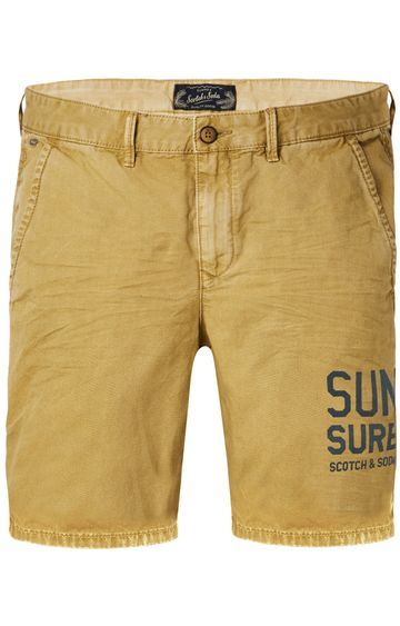 Scotch & Soda | Canvas Chino Short With Contrast Inside