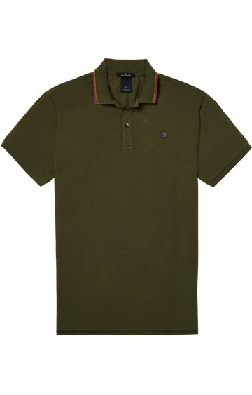 Scotch & Soda | CLASSIC PIQUE POLO WITH CONTRAST STRIPES