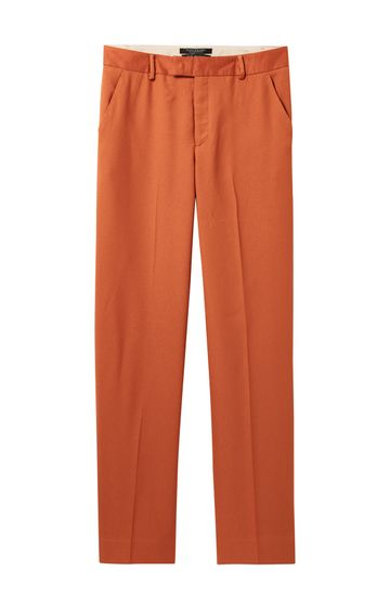 Scotch & Soda | WIDE LEG DRAPEY PANTS WITH PRESSED PLEAT