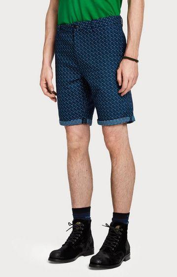 Scotch & Soda | Blue Printed Shorts