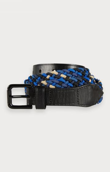 Scotch & Soda | Ams Blauw sporty freediver corded belt