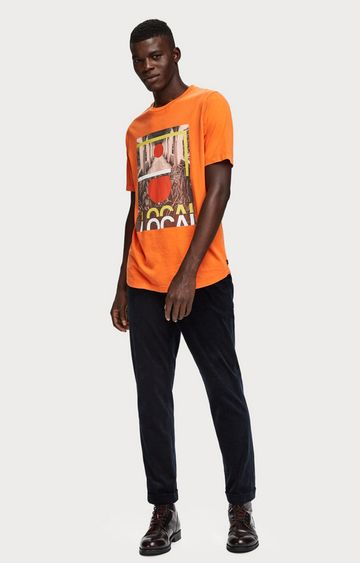 Scotch & Soda | Photo Print Jersey TShirt