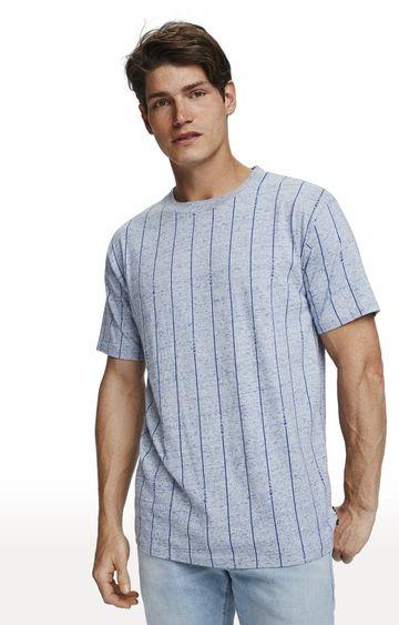 Scotch & Soda | Grey Striped T-Shirt