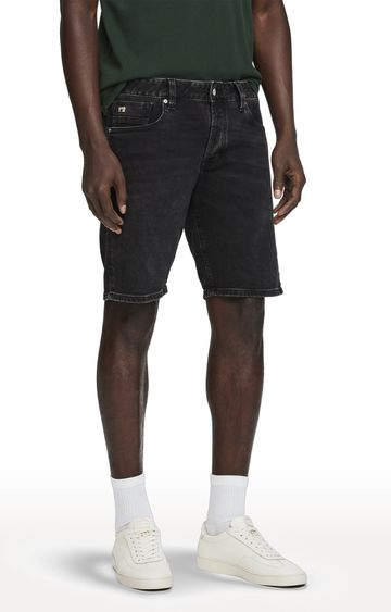 Scotch & Soda | Black Solid Ralston Shorts