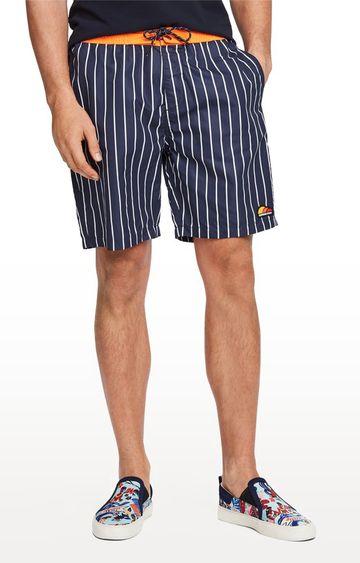 Scotch & Soda | Navy Striped Boardshorts