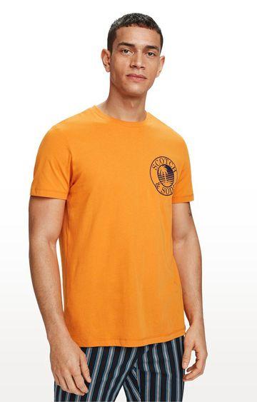 Scotch & Soda | Ginger Printed Regular Fit T-Shirt