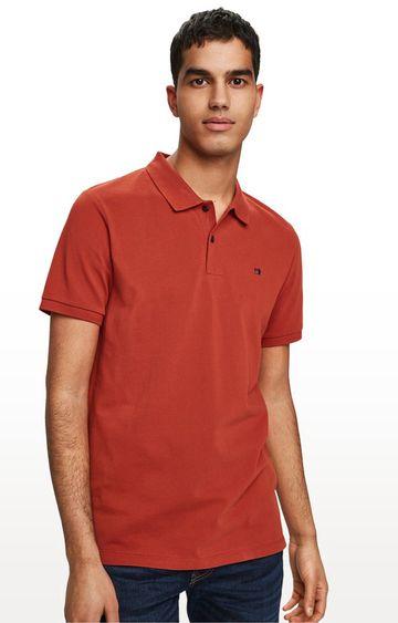 Scotch & Soda | Rum Run Solid Regular Fit Polo T-Shirt