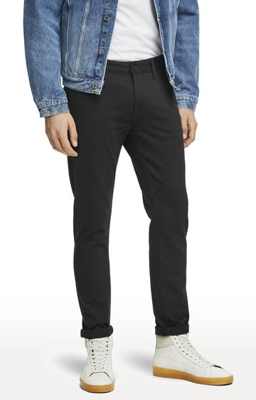 Scotch & Soda   Stay Black Solid Skim Jeans
