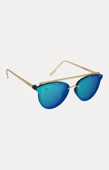 Walrus | Golden Oval Sunglasses