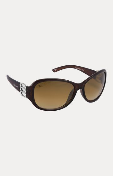Walrus | Brown Oversized Sunglasses