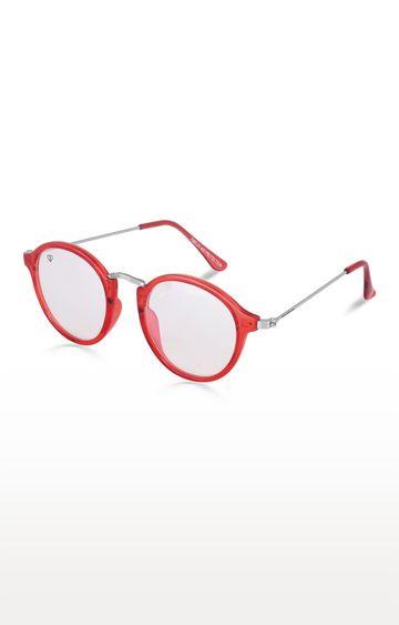 Walrus | Red Round Sunglasses