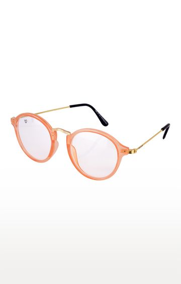 Walrus | Orange Round Sunglasses