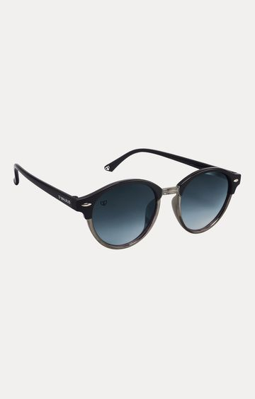 Walrus | Metallic Grey Round Sunglasses