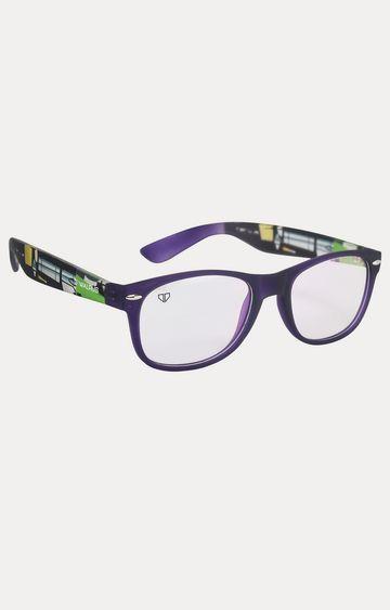 Walrus   Purple Square Sunglasses
