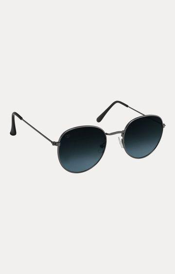 Walrus | Grey Oval Sunglasses
