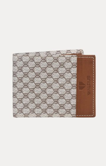 Walrus | White and Brown Wallet