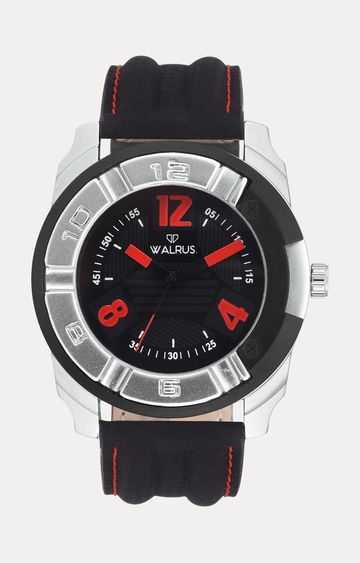Walrus | Black Analog Watch