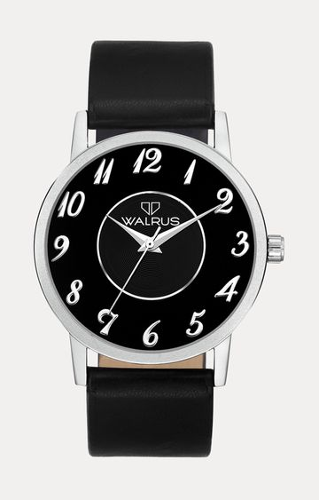 Walrus | Black Analog Watch