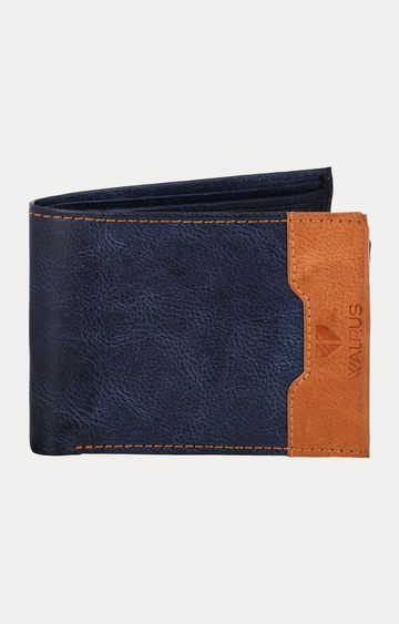 Walrus | Navy and Tan Wallet