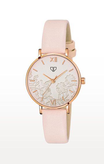 Walrus | Cream Venice Analog Function Premium Quality Trendy Watch