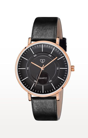 Walrus | Black Venice IV Analog Function Premium Quality Trendy Watch