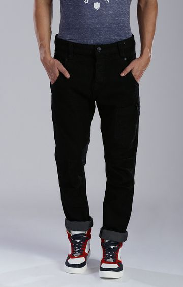 883 Police | Black Tapered Jeans