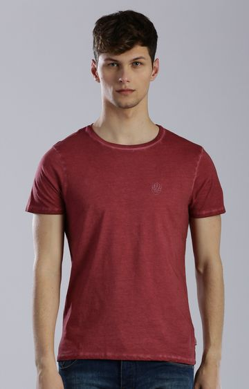 883 Police | Red Solid T-Shirt