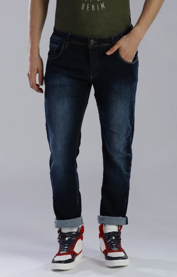 883 Police | Blue Straight Jeans
