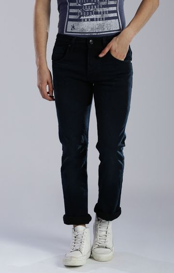 883 Police | Navy Straight Jeans