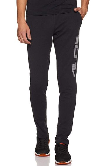 ALCIS | ALCIS Black Printed Trackpants