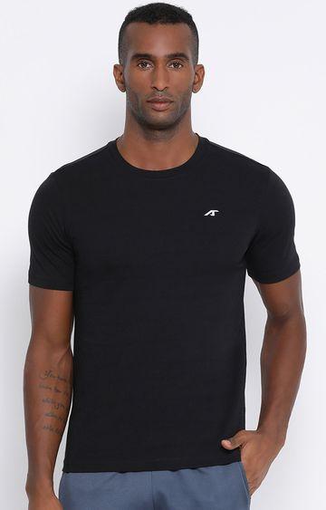 ALCIS | ALCIS Black Solid T-Shirt