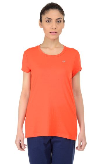 ALCIS | ALCIS Orange Solid T-Shirt