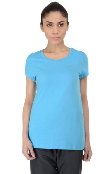 ALCIS | ALCIS Blue Solid T-Shirt