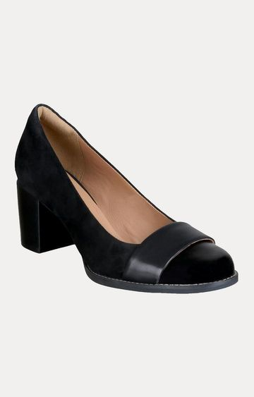 Clarks   Tarah Brae Black Combi Shoes