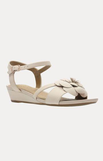 Clarks   Parram Stella Dusty Pink Sandals