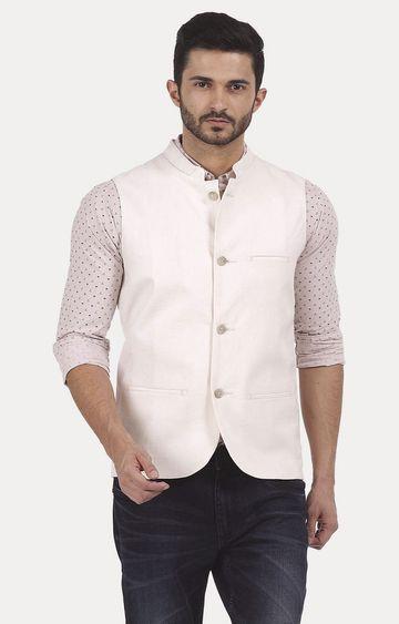 Basics | White Solid Jacket