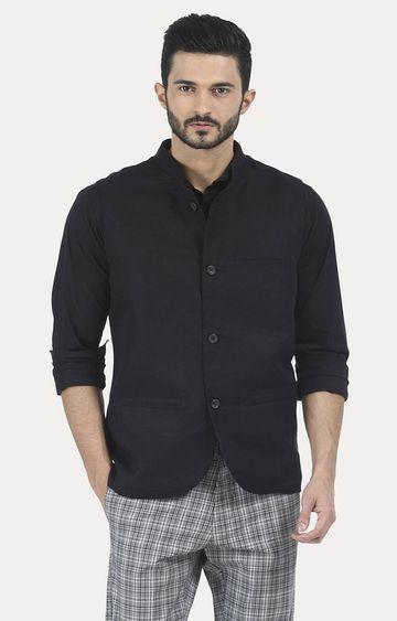 Basics | Black Solid Jacket