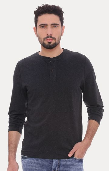 Basics | Black Melange T-Shirt