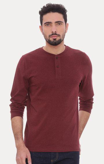 Basics | Red Melange T-Shirt