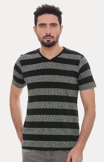 Basics | Black Striped T-Shirt