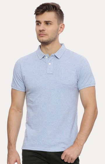 Basics | Blue Melange T-Shirt