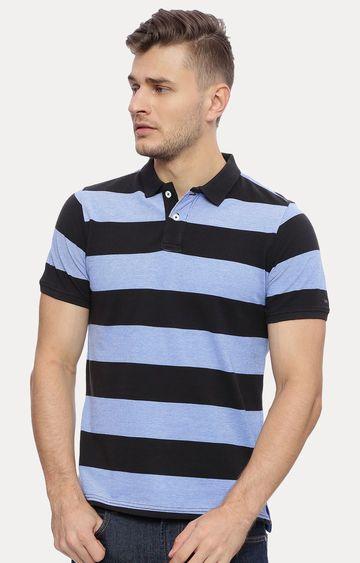 Basics | Blue Striped T-Shirt