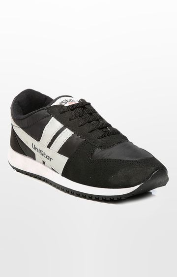 Unistar | Black Sports Shoes