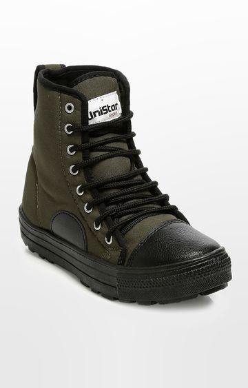 Unistar | Green Boots