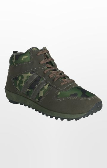 Unistar | Green Sports Shoes